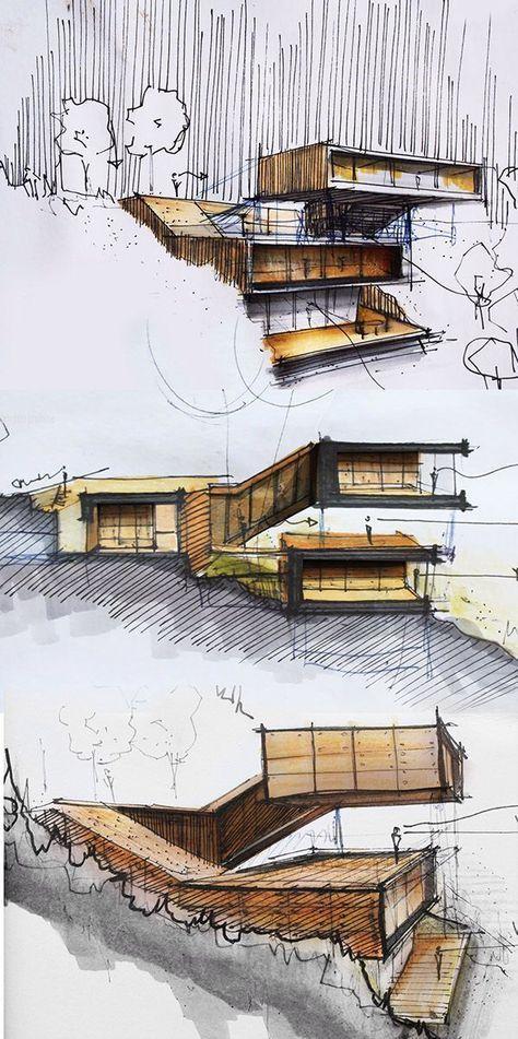 Architecture School Portfolio - Portfolio for the Best Architecture Schools - Examples of Architecture school portfolios